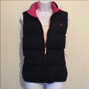 Lilly Pulitzer Reversible Down Puffer Vest Small